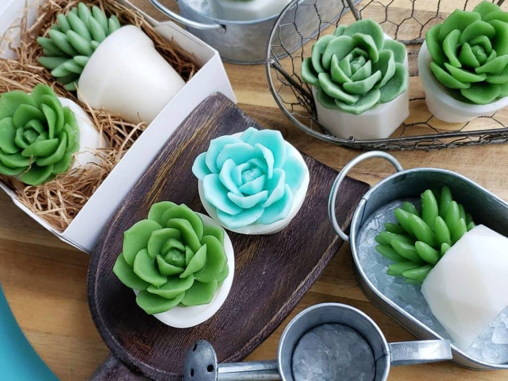wedding favor, hand-made soap by Sugar and spice Singapore