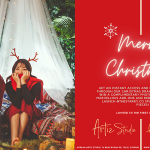 Korea Artiz Studio Christmas promotion